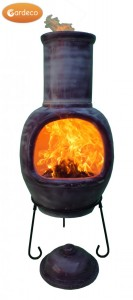 Asteria Chimenea 1.32mtr Mottled Purple
