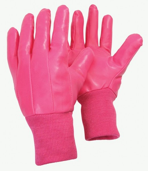 B Gloves Water Resistant Raspberry