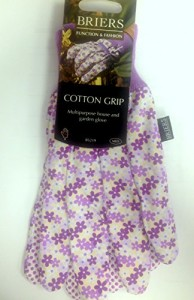 B Gloves Busy Floral Cotton Grip