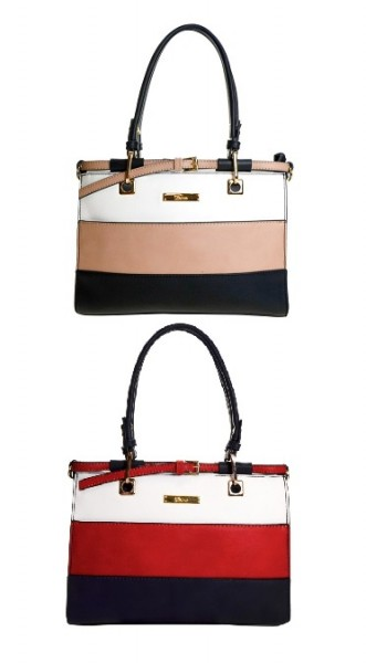 Arabella Mini Cross Bag Striped