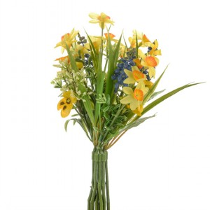 Artificial Narcissus Wild Flower Bundle