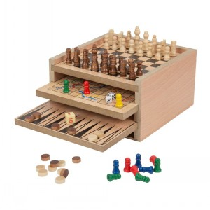 WOODEN GAME SET 7 IN 1