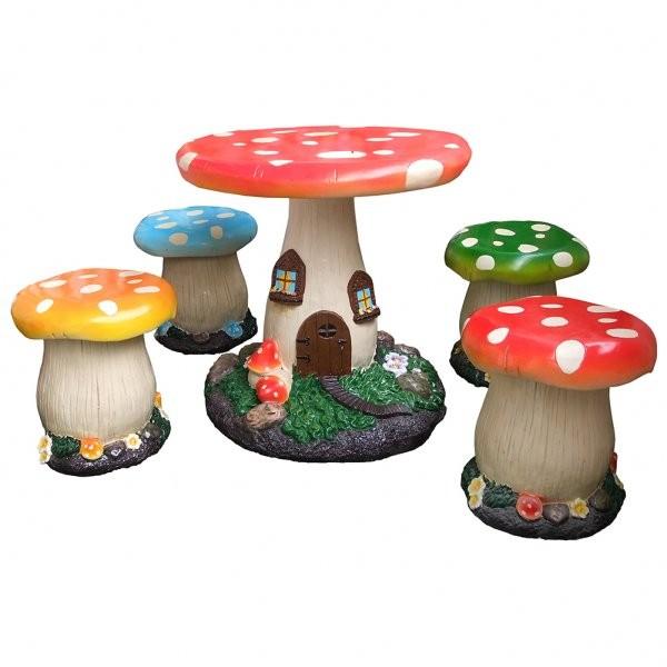 mushroom garden set